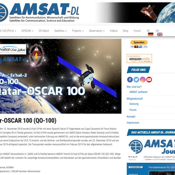 AMSAT DL Webseiten